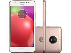 """Smartphone Motorola Moto E4 4G Dual Tela 5"""" 16GB Câmera 8MP Ouro Rosé"""