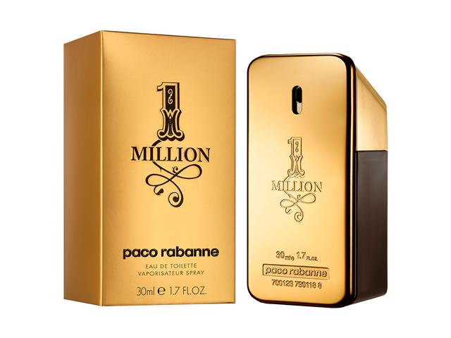 Perfume Paco Rabanne 1 Million Masculino - EDT 30ml - 0