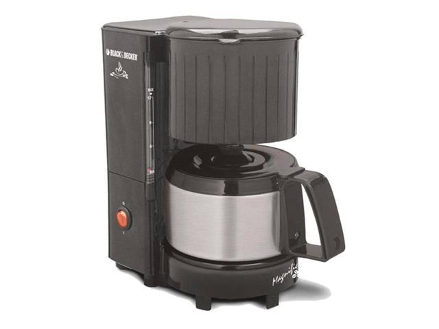 Cafeteira Elétrica Black & Decker Magnific 12 xícaras 600W Preta 110V