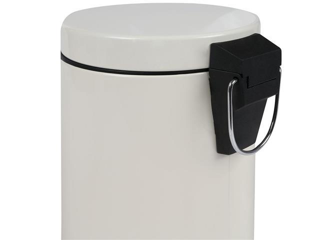Kit Banheiro MOR Àgata Bege Escova Sanitária e Lixeira 3 Litros - 2