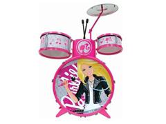 Bateria Infantil Barbie Fabulosa com Banquinho