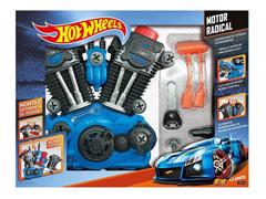Motor Radical Hot Wheels Monte e Desmonte