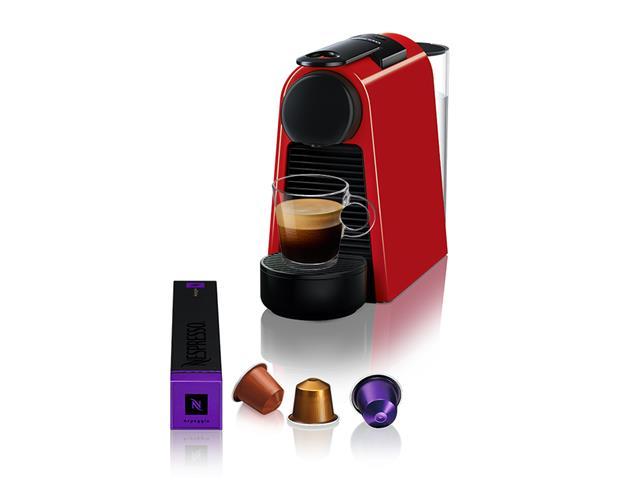Máquina de Café Nespresso Essenza Mini D30 com Kit Boas Vindas - Vermelha - 110V - 10