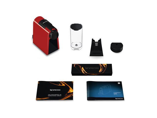 Máquina de Café Nespresso Essenza Mini D30 com Kit Boas Vindas - Vermelha - 110V - 16