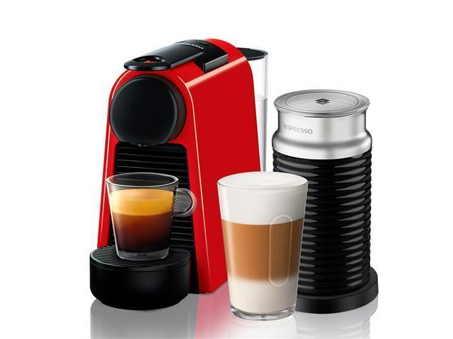 Kit Nespresso Essenza Mini Red + Aeroccino 3 com Kit Boas Vindas 110V - 1