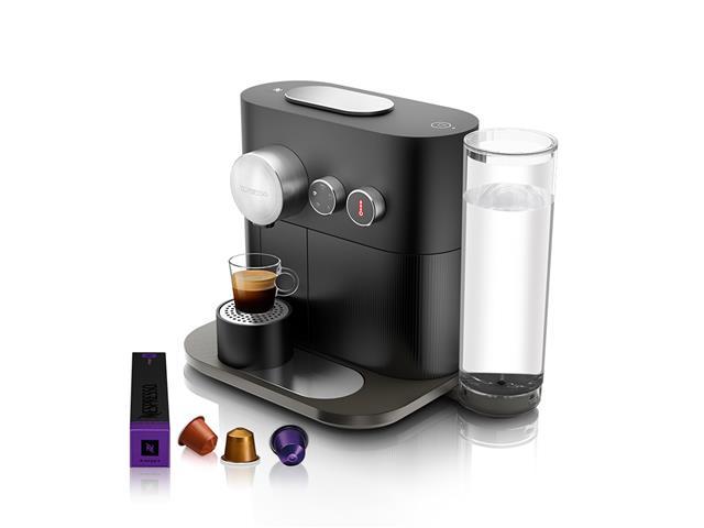 Cafeteira Nespresso Automática com Kit Boas Vindas Expert Black