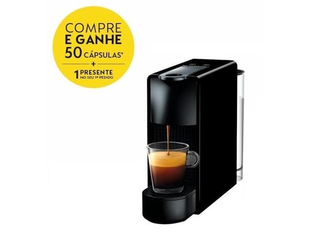 Cafeteira Nespresso Automática Essenza Mini Black