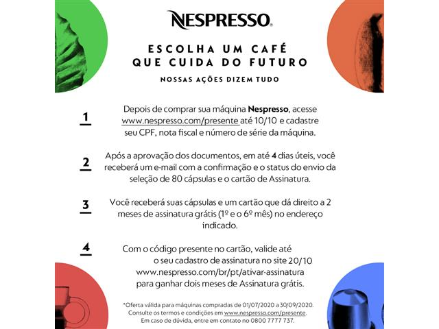 Cafeteira Nespresso Automática Essenza Kit Boas Vindas Mini Black - 1