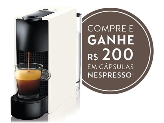Cafeteira Nespresso Automática Essenza Mini White