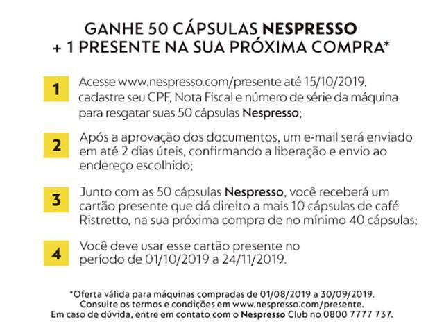 Cafeteira Nespresso Automática Essenza Mini White - 1