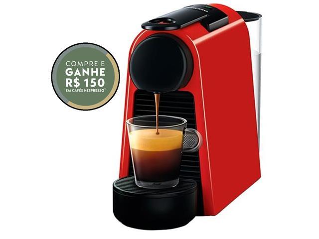 Cafeteira Nespresso Automática Essenza Mini Red