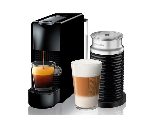 Kit Nespresso Essenza Mini Black + Aeroccino 3 - 1