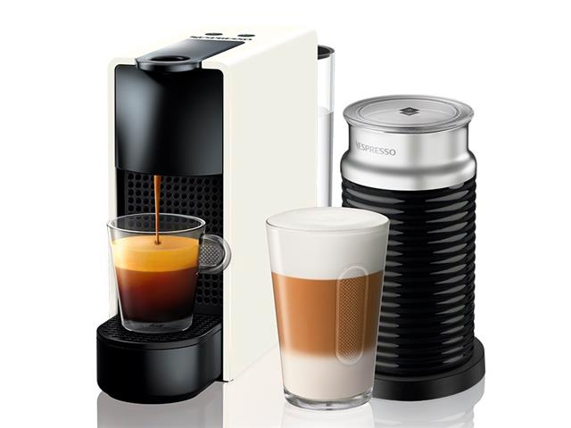 Kit Nespresso Essenza Mini White + Aeroccino 3