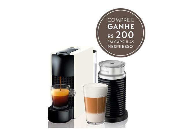 Kit Nespresso Essenza Mini White + Aeroccino 3
