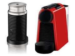 Kit Nespresso Essenza Mini Red + Aeroccino 3 - 1