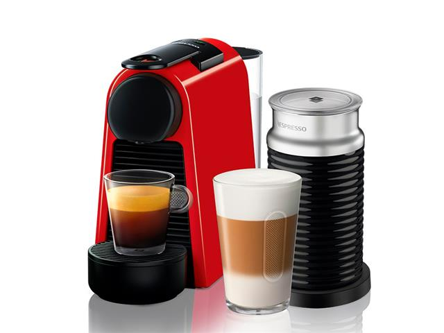 Kit Nespresso Essenza Mini Red + Aeroccino 3 - 2