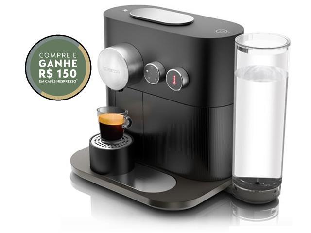 Cafeteira Nespresso Automática Expert Black