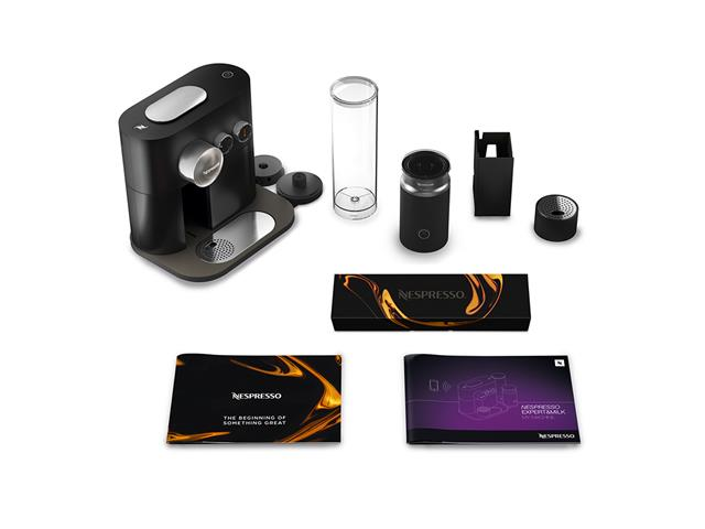 Kit Nespresso Expert Black + Aeroccino 3 com Kit Boas Vindas - 8