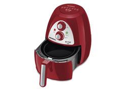 Fritadeira Elétrica Sem Óleo Mondial Inox Red Premium Air Fryer