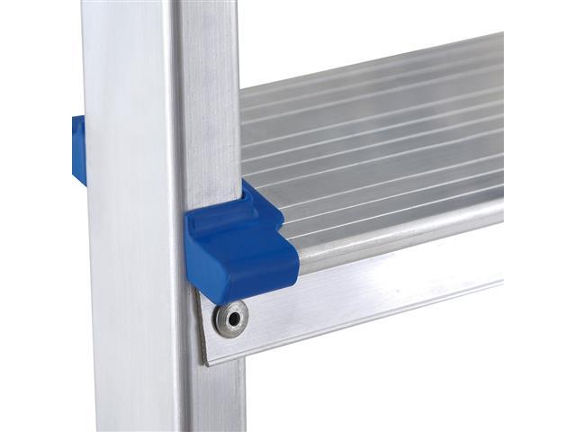 Escada Mor Banqueta com 3 Degraus - Alumínio - 4