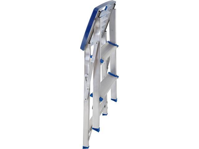 Escada Mor Banqueta com 3 Degraus - Alumínio - 2