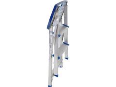 Escada MOR Banqueta de Alumínio com 3 Degraus - 2