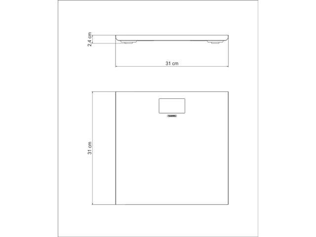 Balança Digital Tramontina Aço Inox para Banheiro - 4