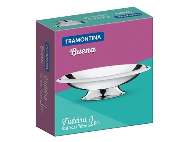 Fruteira Tramontina Aço Inox Buena Ø 35CM - 1