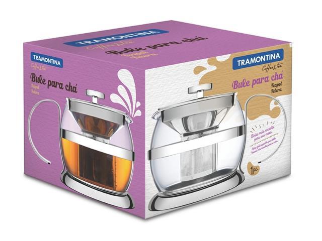 Bule Tramontina para Chá em Vidro 900mL - 1