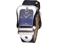9bf388359d9 Relógio Fendi Feminino Pulseira De Tecido Azul Com Monogramas