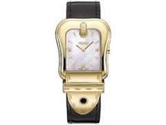 Relógio Fendi Feminino Couro Preto - 1
