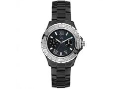 a323aa565d3 Relógio Guess Feminino Cerâmica Preta - X69112l2s