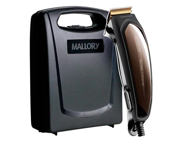Máquina de Cortar Cabelo Mallory Mithos Titanium - 110V - 4