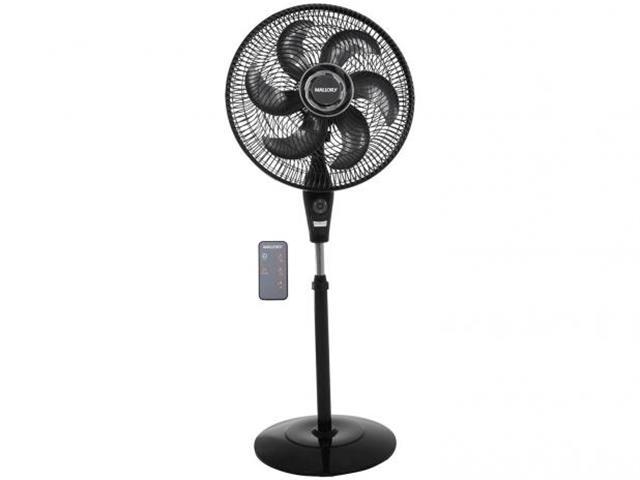 Ventilador de Coluna Mallory Air Timer TS+ Preto 40cm 110V - 1