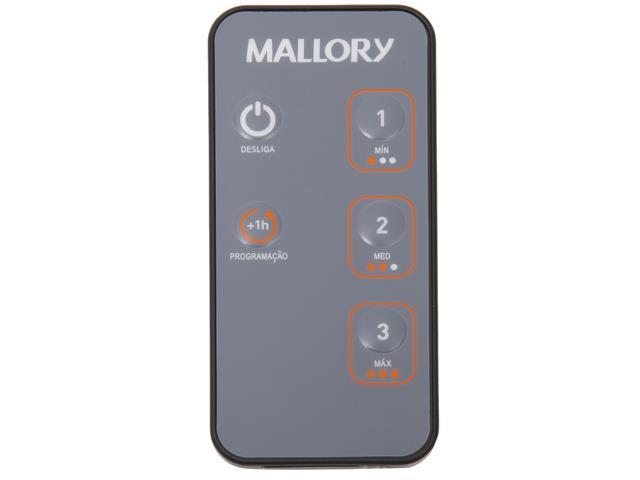 Ventilador de Coluna Mallory Air Timer TS+ Preto 40cm 220V - 8