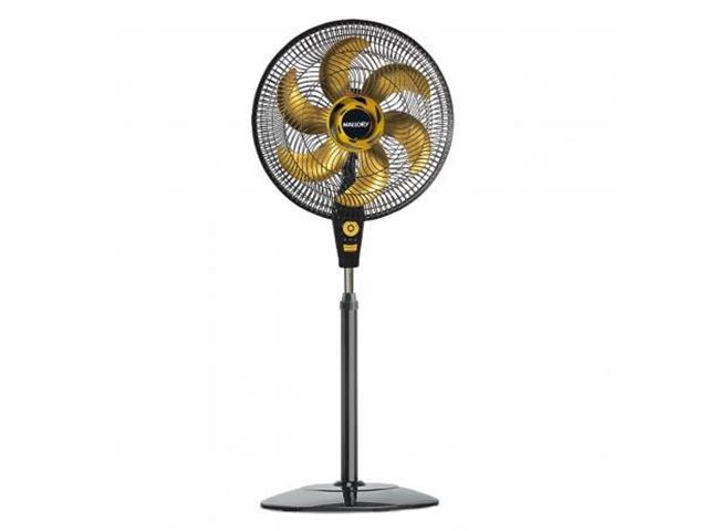 Ventilador de Coluna Mallory Air Timer TS+ Gold Preto 40cm 110V