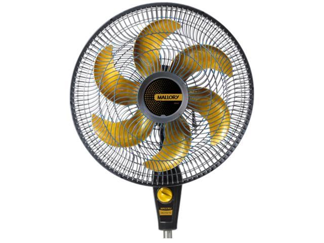 Ventilador de Coluna Mallory Delfos Ts+ Gold Preto 40cm 110V - 1