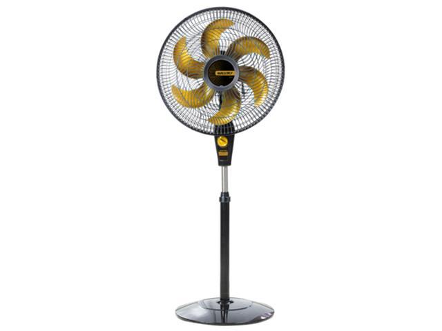 Ventilador de Coluna Mallory Delfos Ts+ Gold Preto 40cm 220V