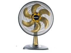 Ventilador Mallory Ts40+ 40cm Gold Preto