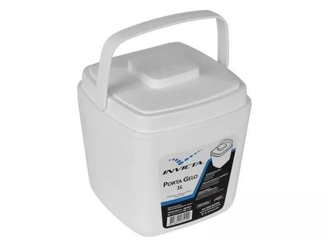 Porta Gelo Invicta Branca 1 Litro - 4