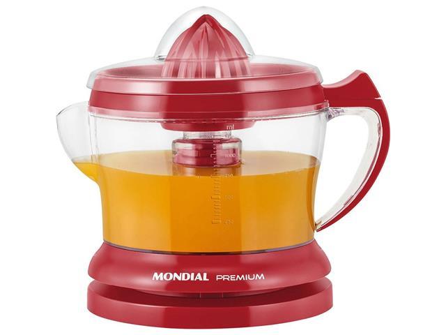 Espremedor de Frutas Mondial Red Premium - 2