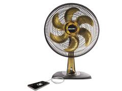 Ventilador Mallory Ts40 Style Usb+ Gold 40cm - 2