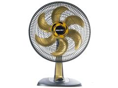 Ventilador Mallory Ts40 Style Usb+ Gold 40cm
