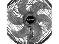 Ventilador Mallory Ts40+ Preto 40cm - 3