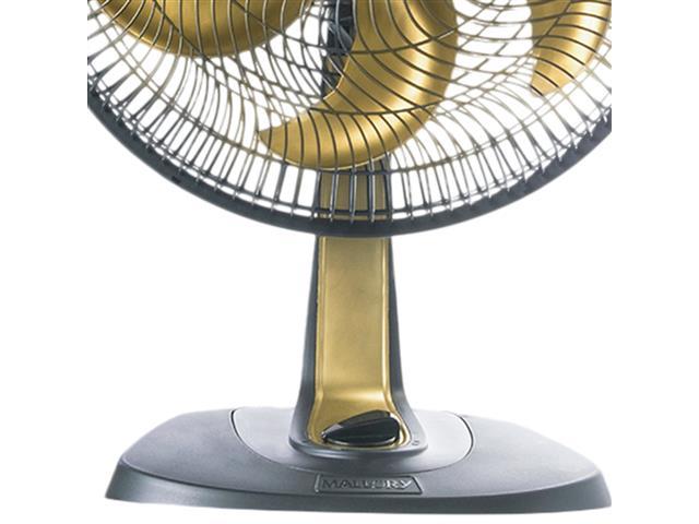 Ventilador Mallory Ts40+ Gold Preto 40cm - 3