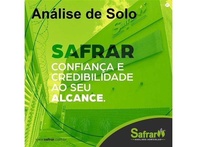 Análise de Solo - Safrar