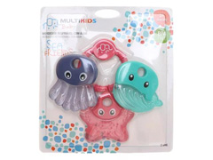 Mordedor para Bebê Multikids Sea Friends Rosa - 2