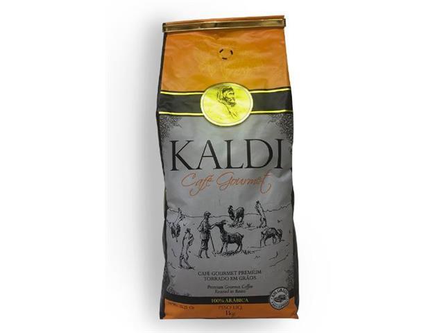 Café Gourmet Kaldi em Grãos 1kg