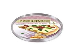 Forma para Pizza Fortaleza Alumínio Polido Ø 35cm - 1