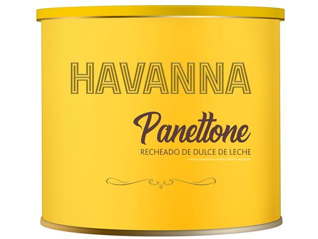 Panettone Havanna Lata Recheado de Doce de Leite 700G - 4